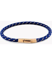 Tateossian - Pop Chalif 18k Gold Bracelet In Blue - Lyst