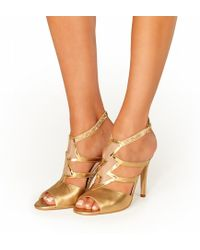 Terry De Havilland - Lightning Sandal Metallic - Lyst