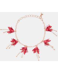 Ted Baker - Fuchsia Chain Bracelet - Lyst
