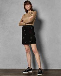 Ted Baker - Knitted Star Skirt - Lyst