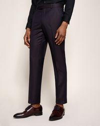 Ted Baker - Pashion Jacquard Wool Suit Trousers - Lyst
