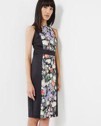 Ted Baker - Kensington Floral Bodycon Dress - Lyst