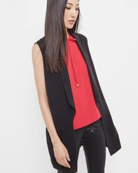 Ted Baker - Knitted Waistcoat - Lyst
