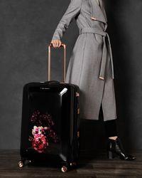 Ted Baker - Splendour Medium Suitcase - Lyst