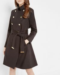 Ted Baker - Madey Double Breasted Trench Coat - Lyst
