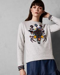 Ted Baker - 'when Pigs Fly' Jumper - Lyst