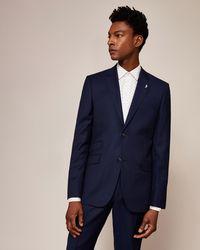 Ted Baker - Sterling Regular Birdseye Wool Suit Jacket - Lyst