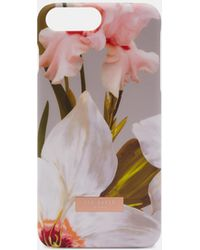 Ted Baker - Chatsworth Bloom Iphone 6/6s/7/8 Plus Case - Lyst