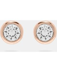 Ted Baker - Round Stud Earrings - Lyst