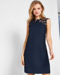 Ted Baker - Applique Lace Tunic Dress - Lyst