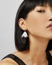 Ted Baker Fuchsia Drop Earrings