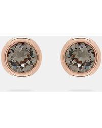 Ted Baker - Crystal Stud Earrings - Lyst