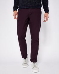 Ted Baker - Classic Fit Cotton Chinos - Lyst