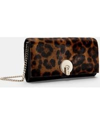 Ted Baker - Leopard Print Matinee Purse With Strap - Lyst