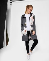 Ted Baker - Chatsworth Bloom Parka - Lyst