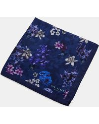 Ted Baker - Sugi Floral Printed Pocket Square - Lyst