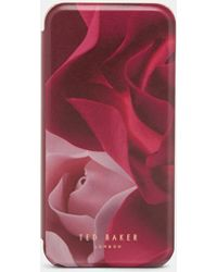 Ted Baker - Rennee Porcelain Rose Iphone 6/6s/7 Book Case - Lyst