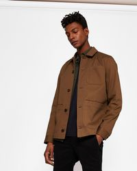 Ted Baker - Cotton Utility Jacket - Lyst