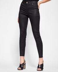 aeeb2a63aeb01d Ted Baker Portsoy Skinny Jeans in Black - Lyst
