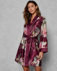 Ted Baker - Pure Peony Kimono Robe - Lyst