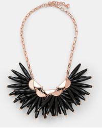 Ted Baker - Flare Burst Necklace - Lyst
