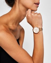 Ted Baker - Bow Detail Watch - Lyst
