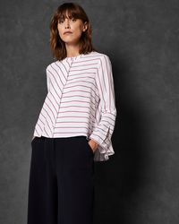 Ted Baker - Colour By Numbers Stripe Shirt - Lyst