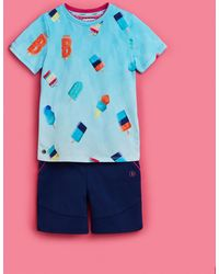 Ted Baker - Cotton Ice Lolly T-shirt And Shorts Set - Lyst