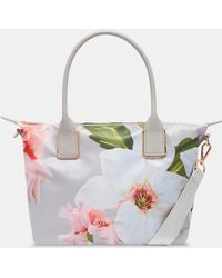 Ted Baker - Chatsworth Small Nylon Tote Bag - Lyst