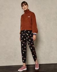 Ted Baker - Colour By Numbers Flisie Floral Jogger Pants - Lyst