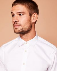 Ted Baker - Classic Fit Stretch Shirt - Lyst