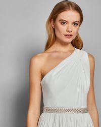 Ted Baker - Medium Embellished Bridal Belt - Lyst