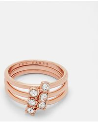 Ted Baker - Princess Sparkle Ring - Lyst