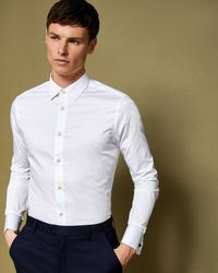 Ted Baker - Classic Fit Cotton Shirt - Lyst