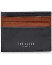 b1578337dd7e35 Ted Baker Contrast Edge Card Holder in Orange for Men - Lyst