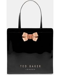 Ted Baker - Bow Detail Large Icon Bag - Lyst