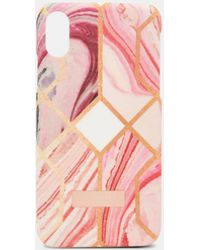 Ted Baker - Sea Of Clouds Iphone X Clip Case - Lyst
