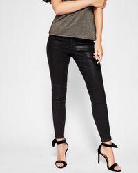 Ted Baker - Wax Finish Denim Jeans - Lyst