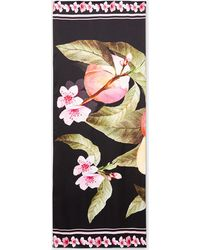 Ted Baker - Peach Blossom Silk Cape Scarf - Lyst