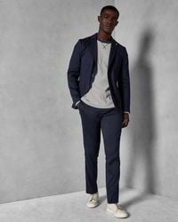 Ted Baker - Linen Suit Trousers - Lyst