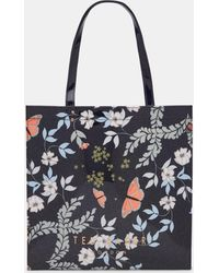Ted Baker - Kyoto Gardens Large Icon Bag - Lyst
