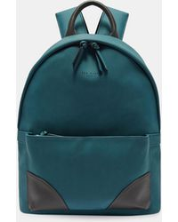 Ted Baker - Faux Nubuck Backpack - Lyst