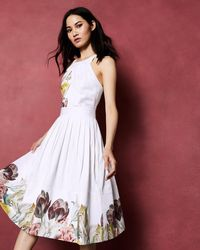 Ted Baker - Tranquility Cotton Dress - Lyst