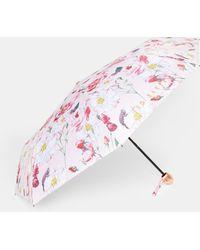 Ted Baker - Iguazu Compact Umbrella - Lyst