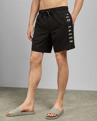 Ted Baker Branded Short Swimshorts