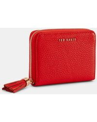 45b249a5894f49 Ted Baker Cat Whiskers Leather Matinee Purse in Metallic - Lyst