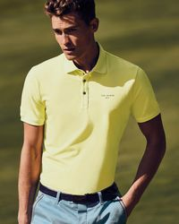 Ted Baker - Stripe Detail Polo Shirt - Lyst