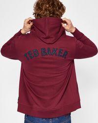 Ted Baker - Branded Anniversary Hoodie - Lyst