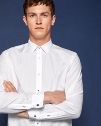 Ted Baker - Floral Cotton Shirt - Lyst