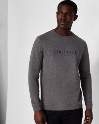 Ted Baker - Branded Anniversary Sweatshirt - Lyst